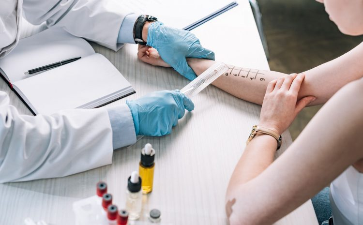 What distinguishes an allergist from a general physician?